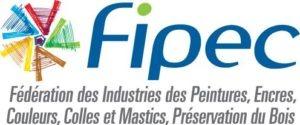 logo de la Fédération des industries des peintures, encres, couleurs, colles et mastics, préservation du bois